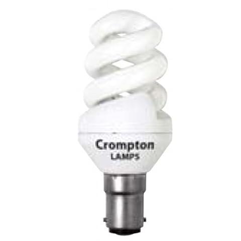 Crompton Mini Spiral T2 9W B15d Very Warm White