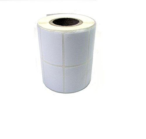 50 x 38 mm, Thermal transfer barcode labels, paper white, core size 1 inch, across 2 up, face out, wind up in roll, permanent adhesive, 2500 labels in roll