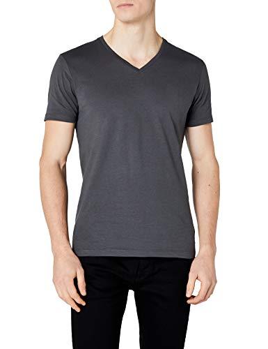 ESPRIT Herren T-Shirt 997EE2K821 Grau (Dark Grey 020) XX-Large -