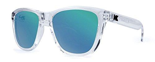 Sonnenbrillen Knockaround Premium Clear / Green Moonshine