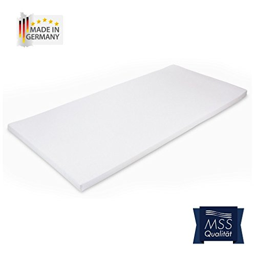 MSS® Cotton Bezug / Ersatzbezug für Viscotopper/Kaltschaumtopper/Latextopper/Viscoauflage/Kaltschaumauflage/Topper