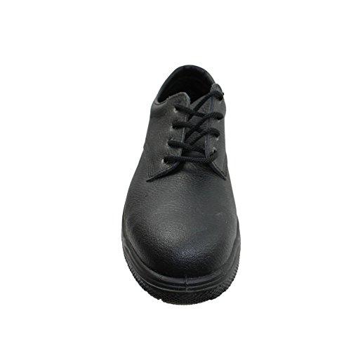 Jal group s1 chaussures de travail chaussures chaussures berufsschuhe businessschuhe plat noir Noir - Noir