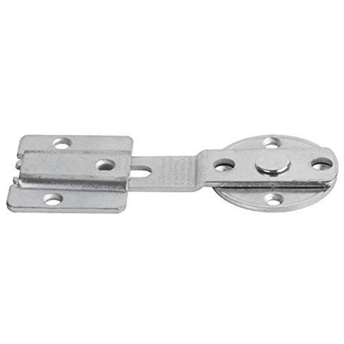 Tischplattenverbinder CLICK CATCH Stahl verzinkt Arbeitsplattenverbinder Holzplatten-Verbinder zum Schrauben von SO-TECH®