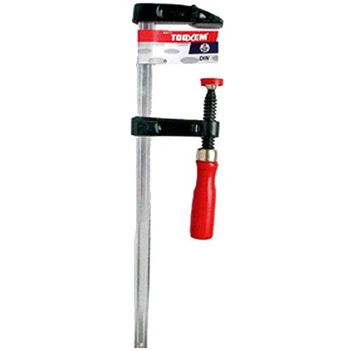 Ironside 820112 Serre-joint à vis 50x300mm avec manche en Bois Multicolore
