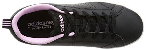 adidas Vs Advantage Clean W, chaussure de sport femme Nero (Negbas/Negbas/Orqcla)