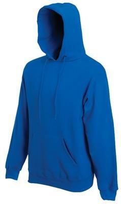 Fruit of the Loom Classic Hooded Sweat Blau,S S,Blau