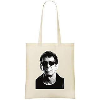 Das Velvet Underground Lou Reed-Porträt - The Velvet Underground Lou Reed Portrait Custom Printed Shopping Grocery Tote Bag 100% Soft Cotton Eco-Friendly & Stylish Handbag For Everyday Use Custom