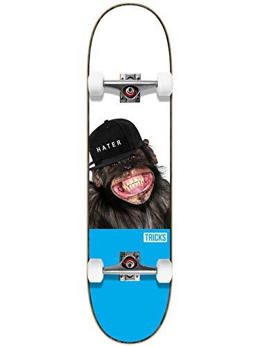 "Unbekannt Tricks Hater 7.75\"" MC Skateboard Complete"