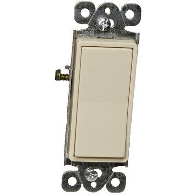 Morris 82060 Decorative Switch, 3 Way, 3 Poles, 15 Amp Current, 120V/277V, Ivory by Morris