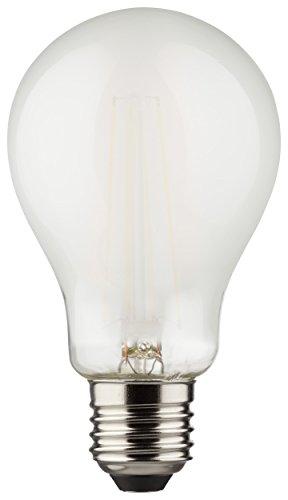 MÜLLER-LICHT 400182 A++, Retro-LED Lampe Birnenform ersetzt 75 W, Glas, 8 W, E27, weiß, 6 x 6 x 10,6 cm [Energieklasse A++]