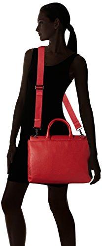 Mandarina Duck - Mellow Leather Tracolla, Borsa a mano Donna Rot (Mara Red)