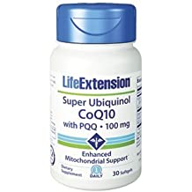 1-pack Super Ubiquinol CoQ10 with PQQ®, 100 mg 30 softgels by Apran