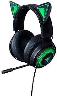 Razer Kraken Kitty RGB USB Gaming Headset: THX 7.1 Spatial Surround Sound - Chroma RGB Lighting - Retractable