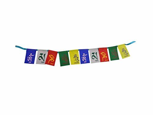 A&A Automobile Premium Quality Ladakh / Tibet Prayer Flags Small Size - Honda CB Trigger  available at amazon for Rs.169