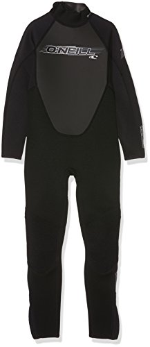 ONEILL WETSUITS O'Neill Wetsuits Youth Reactor Full Neoprenanzug, Black, 14 Jahre (Wetsuit Reactor Full Oneill)