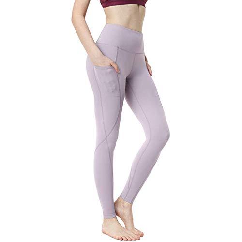 DAY.LIN Hosen Sport Leggings mit Taschen Damen Sporthose Yogahose Fitnesshose Yoga Leggings für Damen Design Damen Sport Leggings Printed