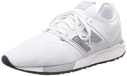 New Balance Herren 247v1 Sneaker, Weiß (White/Silver Om), 45 EU -