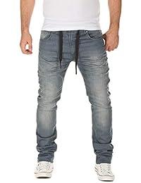 WOTEGA Herren Jeans - Sweathose in Jeansoptik Noah - Slim
