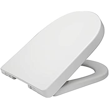 Phenomenal Premier Nts004 Luxury Soft Close Toilet Seat White 44 9 X Short Links Chair Design For Home Short Linksinfo
