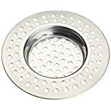 Kitchen Craft Stainless Steel Kitchen Sink Strainer Plug, 7.5 cm (3