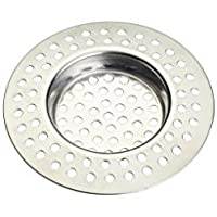 KitchenCraft Stainless Steel Kitchen Sink Strainer Plug, 7.5 cm
