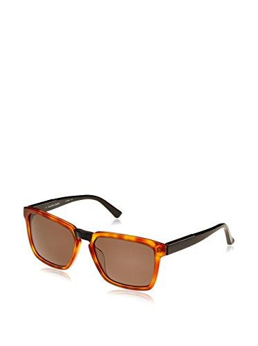 Calvin klein ck7908sp, occhiali da sole unisex-adulto, grigio (black havana), taglia unica