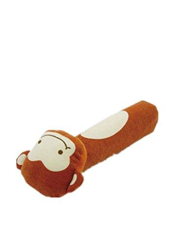 Juguetes suaves para recién nacido, modelo animal, mancuernas de peluche, bonito regalo para bebé, juguete de 0 a 12 meses mono