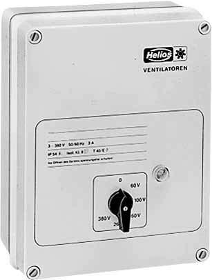 Helios Trafo-Drehzahlsteller mit MWS 1,5 Motorvollschutzeinri Drehzahlsteller 4010184019473