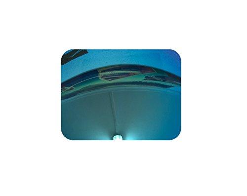MZM Polarisierte Ersatzgläser für Oakley Half Jacket 2.0 (wählen Sie die Farbe) (Ice Blue)