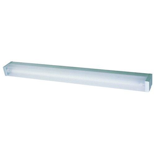 IBV 512108-102 Wandleuchte 4 x 5.7 x 34.3 cm/inklusive elektronischem Vorschaltegerät und Leuchtmittel 8 W/T5/silber (Leuchtstofflampe Opal)
