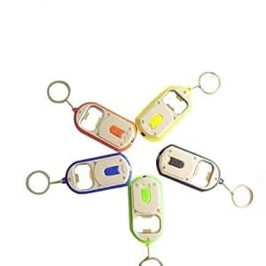 Bheema décapsuleur petite lampe de poche à double usage clé chaîne pendaison boucle