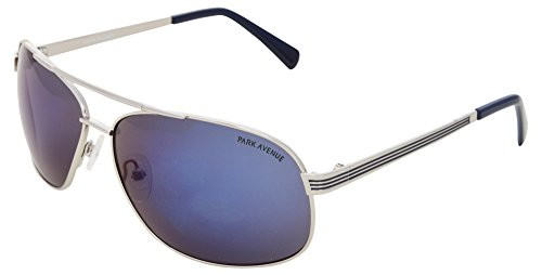 Park Avenue UV Protected Square Men's Sunglasses - (432| 58| Blue Lens)  available at amazon for Rs.2950