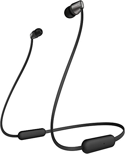 Sony WI-C310 Wireless Neck-Band Headphones with up to 15 Hours of Battery Life - Black