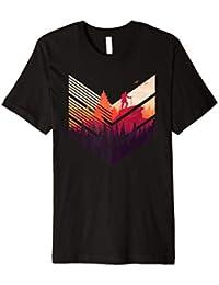 Geometric Forest - Wandern Wald Berge T-Shirt