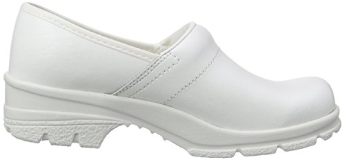 Sanita San-Duty Closed-o2, Sabots Mixte Adulte Blanc - Weiß (White 1)