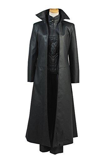 Selene Kostüm Cosplay - Underworld 4 Awakening Selene Mantel Korsett Jacke Cosplay Kostüm Set Damen M