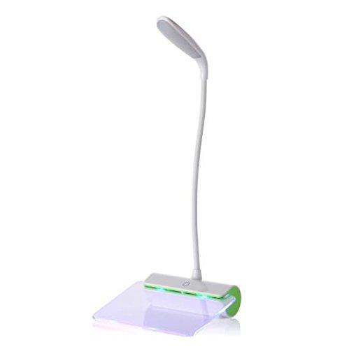 TAIDENG Neuheit LED Tischlampe Augenschutz USB Rechableable LED Schreibtischlampe...
