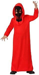 Atosa-18162 Disfraz Demonia, Color rojo, 10 a 12 años (8.42226E