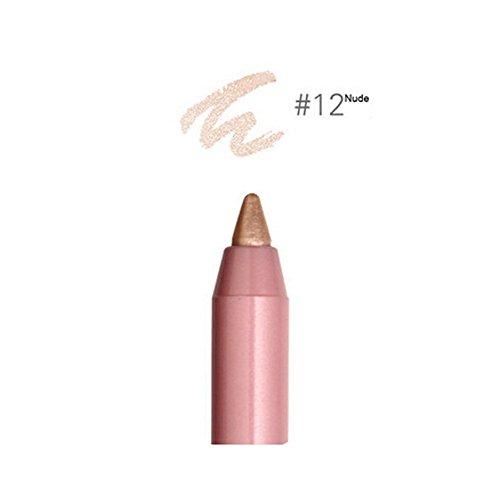 Durable Résistant à l'eau-Eyeliner Pen Eye Liners, couleur nude