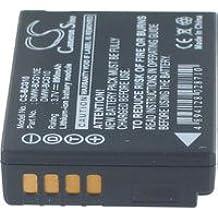 Batteria per PANASONIC LUMIX DMC ZS1S, 3.7V, 890mAh, Li-ion