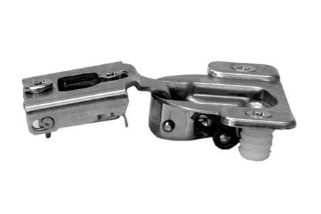 Compact 38N Scharnier und Teller, für 1/5,1cm Overlay, Edge, Einpressen (Edge-mount-scharnier)
