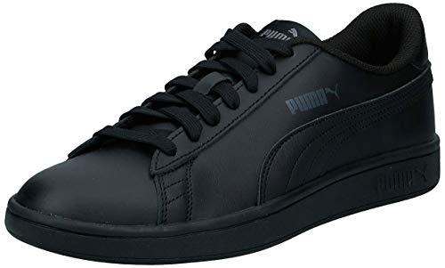 Puma Smash v2 L, Unisex-Erwachsene Sneakers, Schwarz (Puma Black-Puma Black), 42 EU (8 UK)