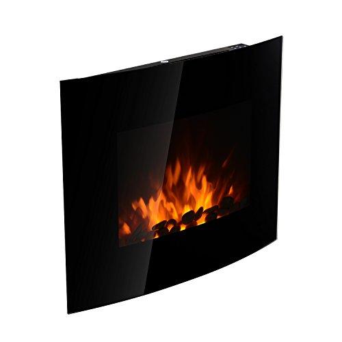 HOMCOM-Chimenea-Electrica-Vidrio-Hierro-Negro-65x114x52cm