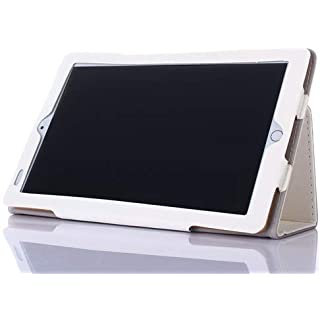 AKNICI Slim Folio Hülle Case Tasche, Kompatibel für Kivors 10,1 Zoll Tablet PC, Haehne 10,1 Zoll Tablet PC, JINYJIA 10.1 Zoll Tablet PC Etc - Weiß