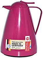 Emsa Thermos For Tea and Coffee - 1L, Pink, Mixed Material