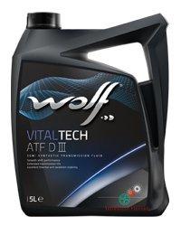 WOLF olio idraulico 5 Litri VITALTECH ATF DIII 5L