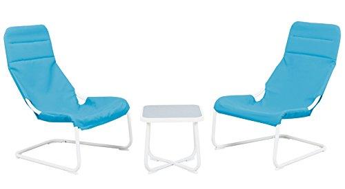 Haberkorn-Garten Chillzone für Jugendzimmer 2 Schwingsessel mit Tisch Zockerzone - 5