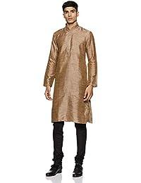Manyavar Men's Silk Kurta Pyjama