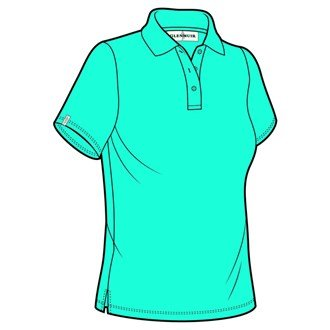 Glenmuir Ladies Sophie Shaped Cotton Polo Shirt in 22 Colours