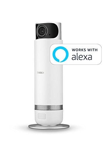 Bosch Smart Home Caméra intérieure 360° - caméra vidéosurveillance connectée full HD avec...